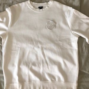 H&M X XO White Sweater L Never Worn